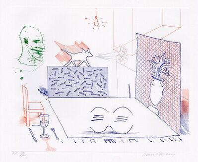 David Hockney, 'Discord Merely Magnifies', 1976-1977
