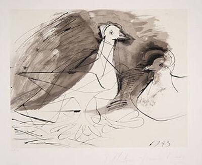 Pablo Picasso, 'Pigeons', 1973