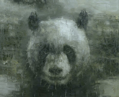 Adam Chang, 'Shan Shui with Panda 1808', 2018