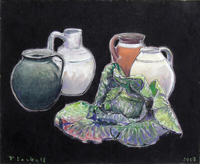 Joseph Plaskett, 'Cabbage and Pots', 2008