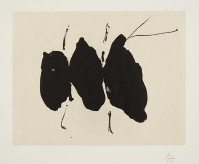 Robert Motherwell, 'Octavio Paz Suite: Mexican Elegy', 1988