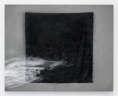 Kate Greene, 'Studio Study No. 2 (black velvet, smoke)', 2017