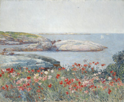 Childe Hassam, 'Poppies, Isles of Shoals', 1891