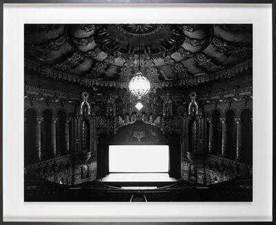 Hiroshi Sugimoto, 'Fox Theater, Michigan', 1980