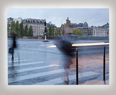 Jim Campbell, 'Rainy Day in Paris II', 2017