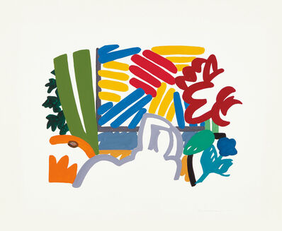 Tom Wesselmann, 'Study for Still Life with Matisse & Johns', 1992
