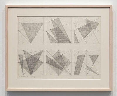 Jack Tworkov, 'Six Sketches - Pencil Drawing', 1975