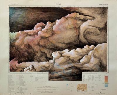Alex Yudzon, 'Cali Cloud Cloud: American Geographic Society of New York 1942', 2013