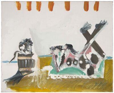 Pablo Picasso, 'Photographe et singe',  1965