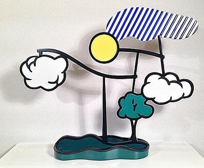 Roy Lichtenstein, 'Landscape Mobile (Limoges)', 1991