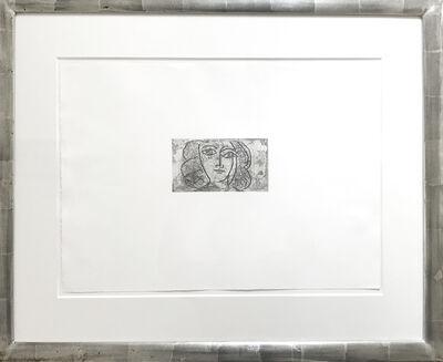 Pablo Picasso, 'Tete de femme de face (Large) - Francoise Gilot', 1945