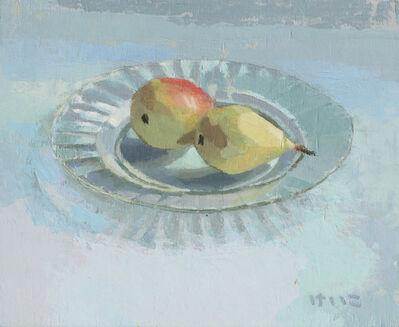 Keiko Ogawa, 'Plate of fruit', 2018