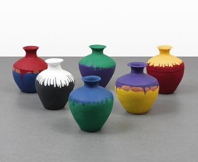 Ai Weiwei, 'Colored Vases', 2015