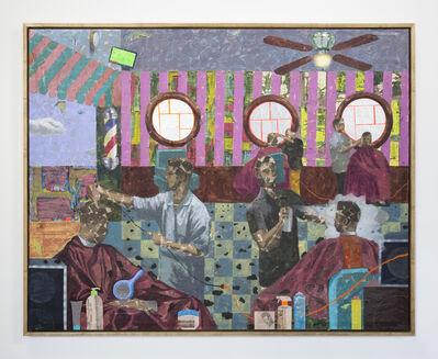 Derek Fordjour, 'Grooming Day', 2019
