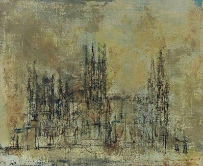 Zao Wou-Ki 趙無極, 'Cathedrale Espagnole', 1952