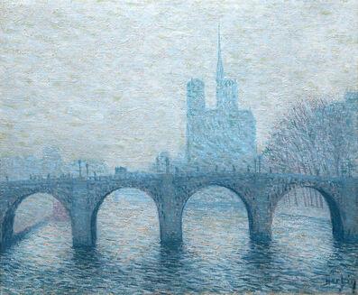 Auguste Herbin, 'Vue du Notre Dame (View of Notre Dame)', 1902