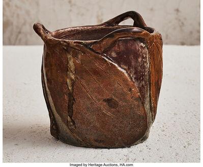Raoul Lachenal, 'Rhythmic Leaves Vase', circa 1901