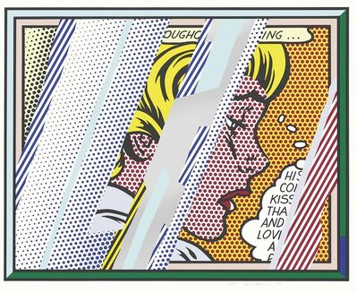 Roy Lichtenstein, 'Reflections on Girl (Corlett 245)', 1990