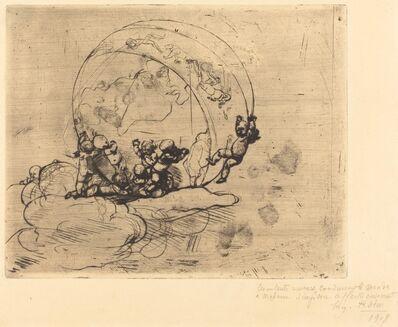 Auguste Rodin, 'Les Amours Conduisant le Monde', 1881