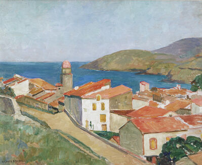 Mildred Bendall, 'Vue de Collioure', ca. 1928