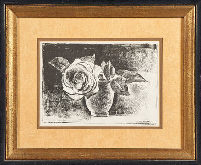 Max Weber, 'Untitled (still life with rose)'