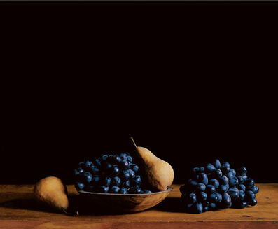 Paul Cary Goldberg, 'Blue Grapes'