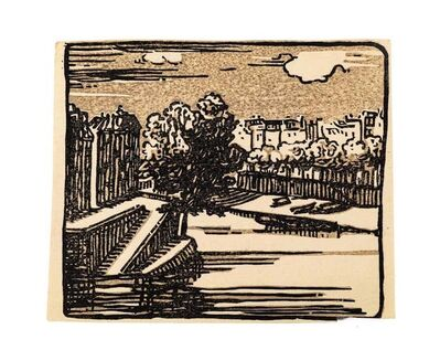 Unknown, 'Landscape', Mid 20th Century