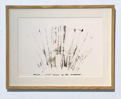 Ana Prvački, 'Study for the Energetic Tickle (accordion)', 2020