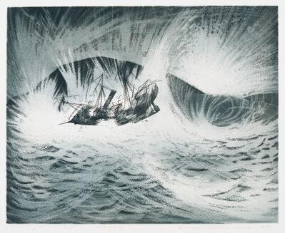 David Blackwood, 'Wreck of S.S. Ranger', 1973