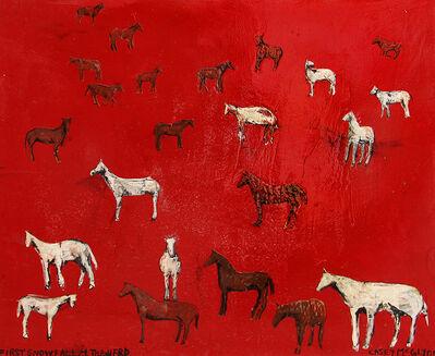 Casey McGlynn, 'First Snowfall + The Herd', 2019