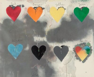 Jim Dine, 'Hearts', 1970
