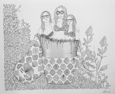Shurooq Amin, 'Three Girls', 2018