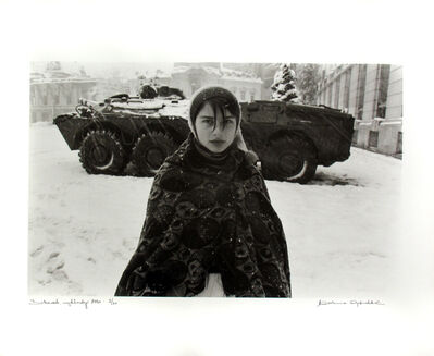 Marianne Grøndahl, 'Bukarest, New Years Day', 1990