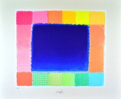 Heinz Mack, 'Blue Field', 2016