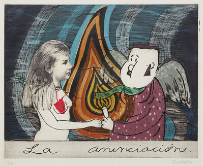 Sandra Ramos, 'La anunciación (The Annunciation)', 1993