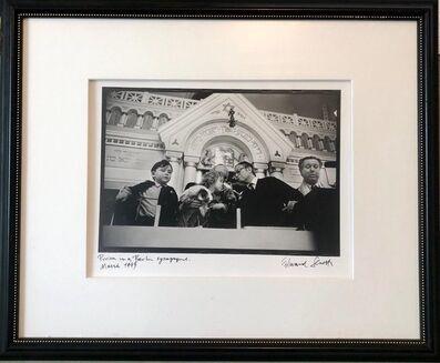 Edward Serotta, 'Photo Purim Pestalozzi Str Synagogue Berlin Vintage Silver Gelatin Photograph', 1990-1999