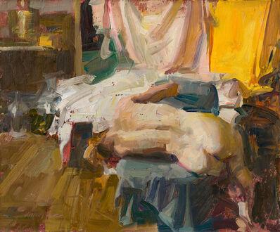 Quang Ho, 'Sideways - Figure in Studio', 2019