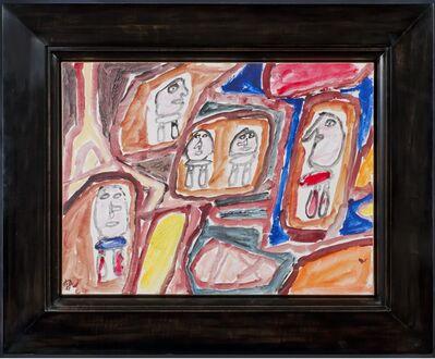 Jean Dubuffet, 'Site avec 5 Personnages', 1981