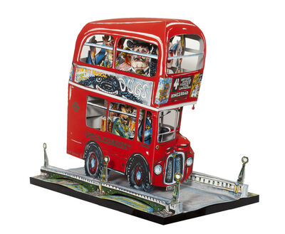 Red Grooms, 'London Bus', 1983
