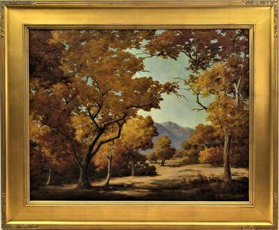 "Earl Graham Douglas, '""California Landscape with Lake"" ', ca. 1925"