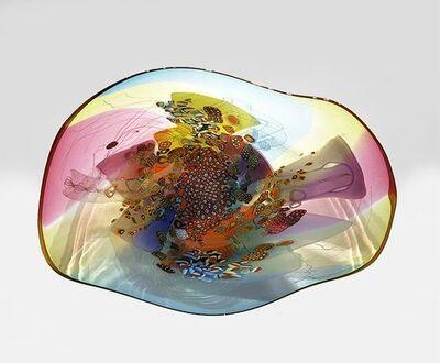 Wes Hunting, 'Colorfield Platter V 1919', 2019