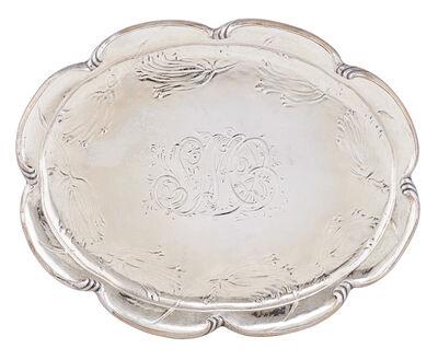 Gorham Martele, 'Gorham Martele Silver Tray', 1897