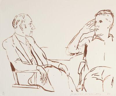 David Hockney, 'Bill and James I, 1980', 1995