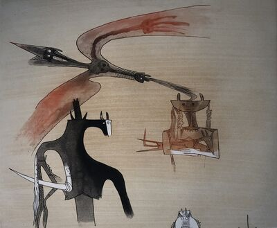 Wifredo Lam, 'Lames de Lam 7', 1977