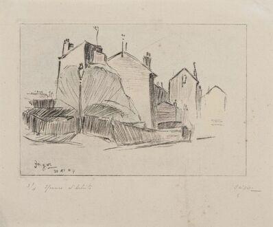 Jacques Bergen, 'Houses in Paris', 20th Century