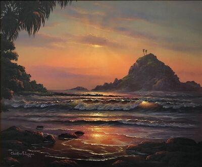 Christian Lassen, 'Sunrise, Hana', 1979
