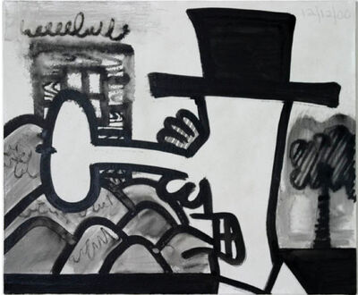 Carroll Dunham, 'Study for Orgone H', 2000
