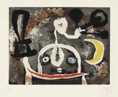 Joan Miró, 'Serie III : One Plate (D.89)', 1952