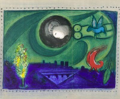 Marc Chagall, 'Quai de Bercy', 1954