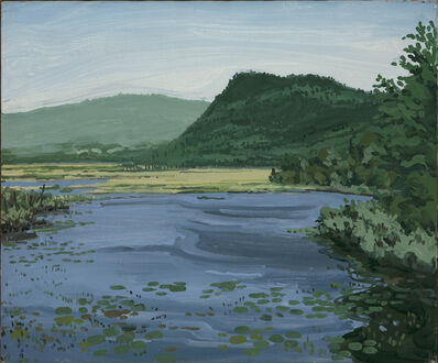 Neil G. Welliver, 'Stream and Mountain ', 1971